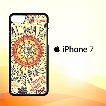 American Hippie Psychedelic L1340 iPhone 7 Case