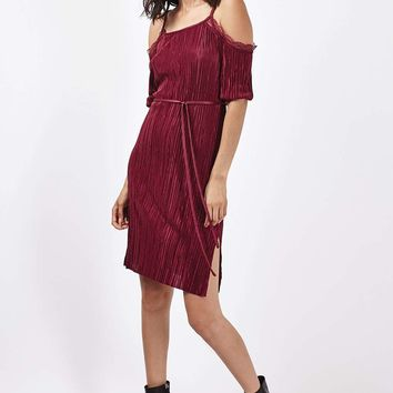 TALL Plisse Lace Dress - New In