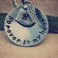 Forever in my heart memory necklace Item 120