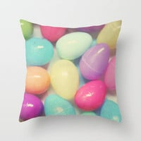 Easter Surprise Throw Pillow by Beth - Paper Angels Photography | Society6