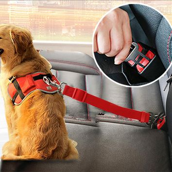 Pet Dog Seat Belt