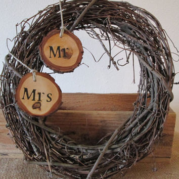 Wreath, Wedding Wreath, Rustic Wreath, Rustic Wedding, Barn Wedding, Barn Wedding Decor, Rustic Wedding Decor
