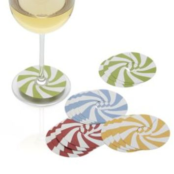 Candy Cane Wine Markers (Set of 16)
