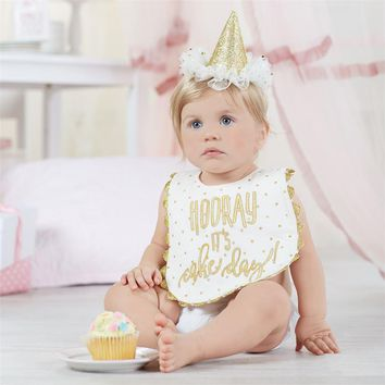 Gold Cake Smashing Set