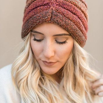 Up All Night Knitted Turban