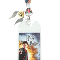 Harry Potter Book Covers Lanyard