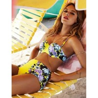 Sunny high Waist Bikini - at discount rate - yellowbow