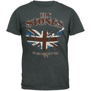 Rolling Stones - North America 81 Tour Soft T-Shirt