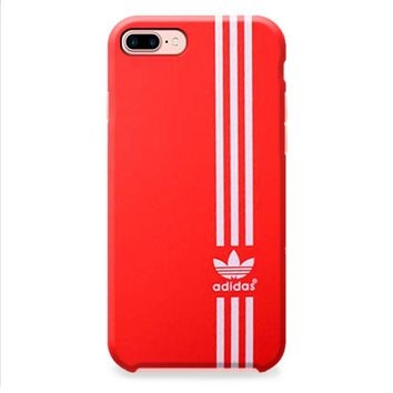 Red white Vertical Adidas iPhone 8 | iPhone 8 Plus Case