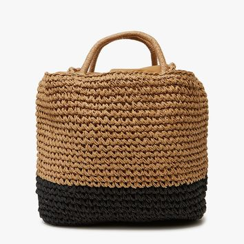 Equator Tote in Two-Tone