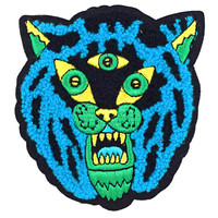 Three Eyed Tiger Chenille Patch