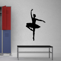 Dancer Ballerina Dance Wall Decal Sticker 3