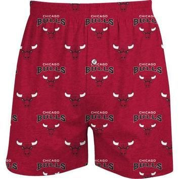 College Concepts Chicago Bulls Supreme Knit Boxer Shorts