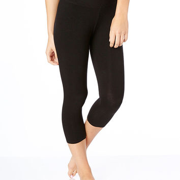 Organic Cotton Everyday Cropped Leggings