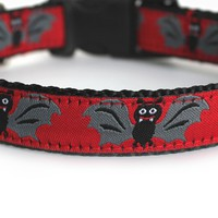Batty Dog Collar