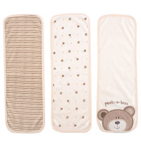 Babies R Us B Is For Bear Terry Burp Cloth 3 Pack