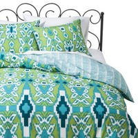 Xhilaration® Ikat Reversible Duvet Cover Set