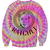 Miley Cyrus Ratchet Sweatshirt | All Over Print Shirts | EDM Shirts