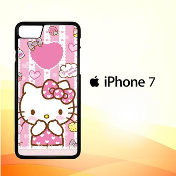 Hello Kitty Candy Pink L1944 iPhone 7 Case