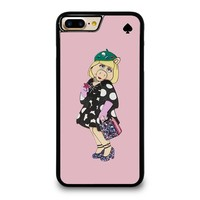 KATE SPADE MISS PIGGY iPhone 4/4S 5/5S/SE 5C 6/6S 7 8 Plus X Case