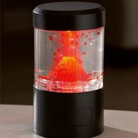 Small Lava Volcano with LED Lights