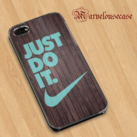 Wood - NIKE - Just Do It Custom case for all phone case