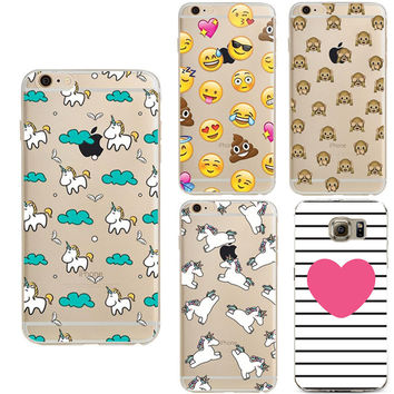 Soft TPU Coque for Samsung Galaxy S3 S4 S5 S6 S7 Edge Grand Prime J3 J5 A3 A5 2016 Case For iPhone 4 4S 5 5S SE 5C 6 6S 7 Plus