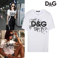 ABAUGUAU Dolce And Gabbana Have a beautiful Life T-shirt