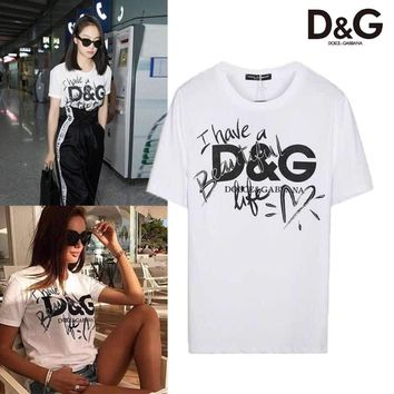 ABSPBEST Dolce And Gabbana Have a beautiful Life T-shirt