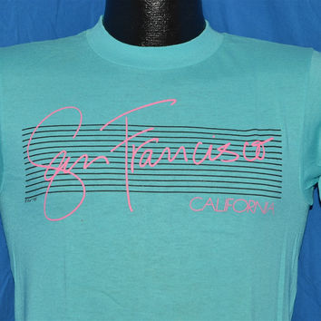 80s San Francisco California Souvenir t-shirt Small