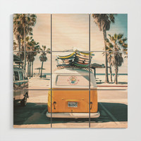 Surf Van Venice Beach California by wanderhaus
