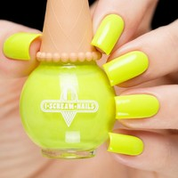 I Scream Nails Pineapple Punch