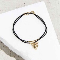 Elephant Wrap Bracelet- Black One