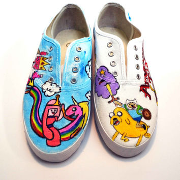 d05f9c9ca9372 Shop Adventure Time Shoes on Wanelo