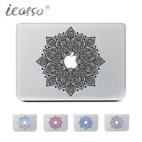 iCasso NEW Classical Flowers Laptop Skin Sticker Decal For Macbook Air Pro Retina 13 15 Macbook Sticker case notebook skin