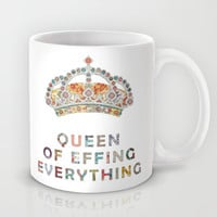 her daily motivation Mug by Bianca Green