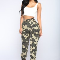 See Me Not Cargo Pants - Camo