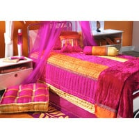 Bacati Tangerine Quilt Collection