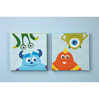 Disney Baby - Monsters, Inc. - 2 Piece Canvas Wall Art