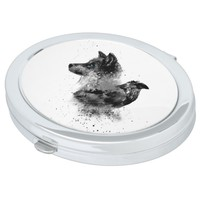 Wolf & Crow Makeup Mirror