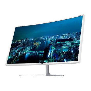 YIDO Display 325FHDCV 32 Inch FHD Curved Monitor (1920 x 1080) PLS, 5ms, Flicker Free, HDMI, DVI