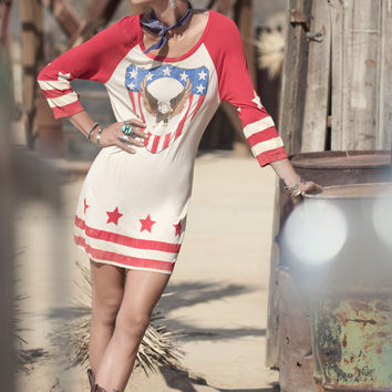 Captain Amerique Raglan