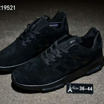 One-nice™ Adidas NEO Breathable Leisure Sports Running Shoes Black I-CSXY