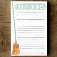 Do Your Chores Notepad - See Jane Work