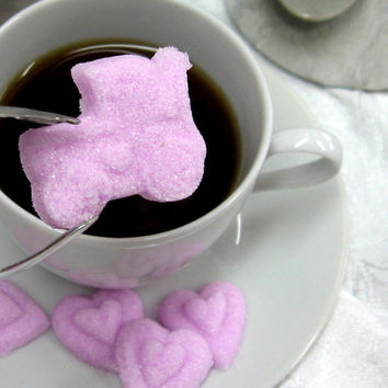 3 Dozen Baby Buggy Shaped Sugar Cubes to Serve with Coffee or Tea  for Your Baby Shower