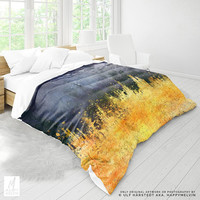 Vibrant Color Splash Duvet Cover | Artsy Duvet Covers | Boho Bedding | Boho Bed Linen | Unique Duvet Cover | Modern Bedrooms | Unique Gifts