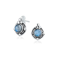 Bling Jewelry Moon Goddess Studs