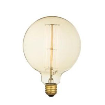 Edison Filament - Edison Antique Vintage Oversize Light Bulb - 1 Pack - Medium size - 60 wattage - E26 - 3,000 hrs of life. 160 Lumens