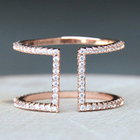 Grecian Ring II - Rose Gold
