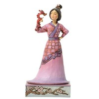 Jim Shore for Enesco Disney Traditions Mulan with Mushu Figurine, 7-Inch